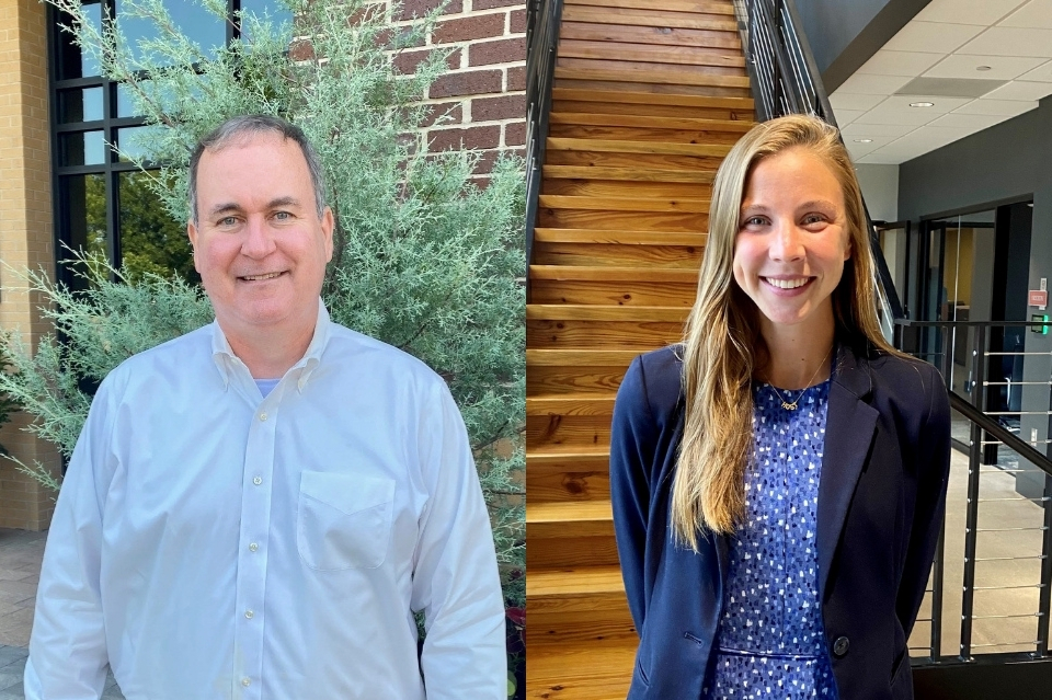langdon cheves and lydia davis join wjcb's greenville, sc office